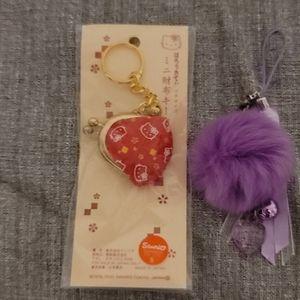 Original Sanrio Hello Kitty Pouch Keychain